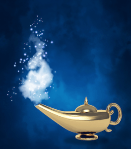 law of attraction magic lamp